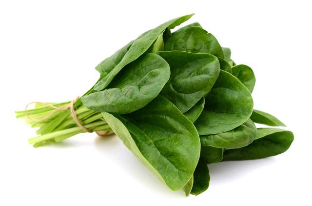 Špenát je jednou z nejúčinnějších potravin bojující proti rakovině.