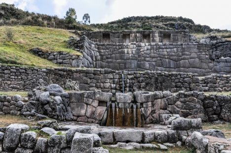Město Cuzco nebylo nikdy opevněno.