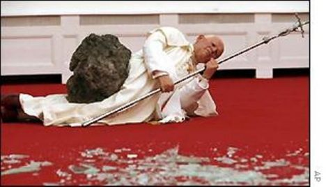smrt papeže
