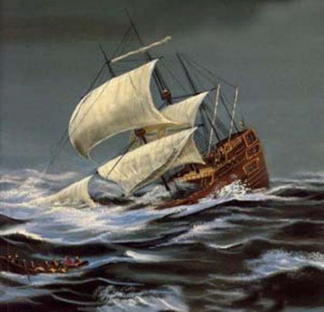 tonoucí loď