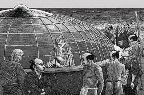Co za tajemnou loď přistálo u japonských břehů?