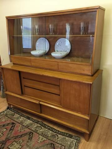 Vintage China Cabinet by Thomasville  EPOCH