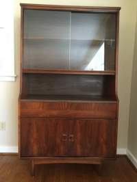 Mid Century Modern China Cabinet by Bassett at EPOCH