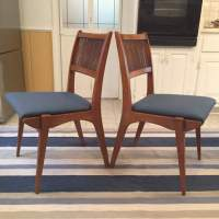 Mid Century Modern Dining Chairs by Drexel Profile Set of ...