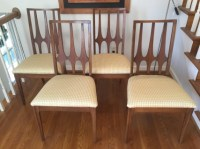 Mid Century Modern Broyhill Brasilia Dining Chairs - EPOCH
