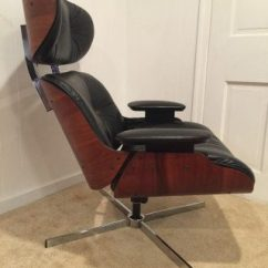 Selig Eames Chair Golden Tech Lift Mid Century Modern Style Lounge By Epoch Vintage Recliner Bent Wood