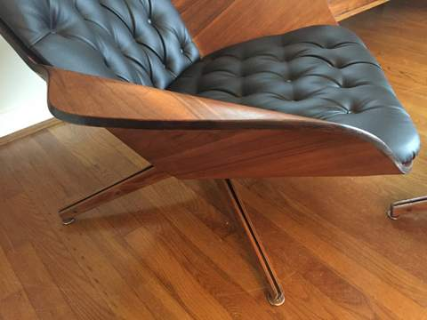 Molded Plywood Lounge Chair Amp Ottoman By George Mulhauser