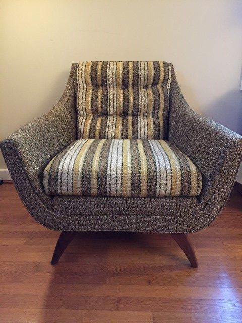 Mid Century Modern Adrian Pearsall Lounge Chair Epoch