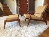 Mid Century Chair And Ottoman - Frasesdeconquista.com