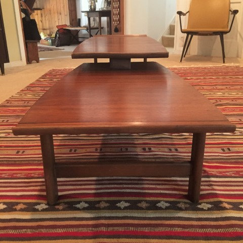 Mid Century Articulating Coffee Table By Lane Epoch