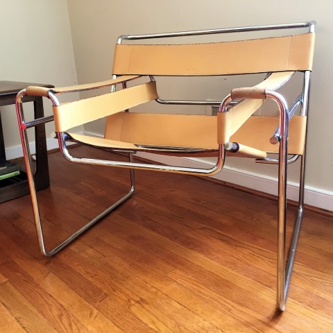 Wassilly chair by Marcel Breuer