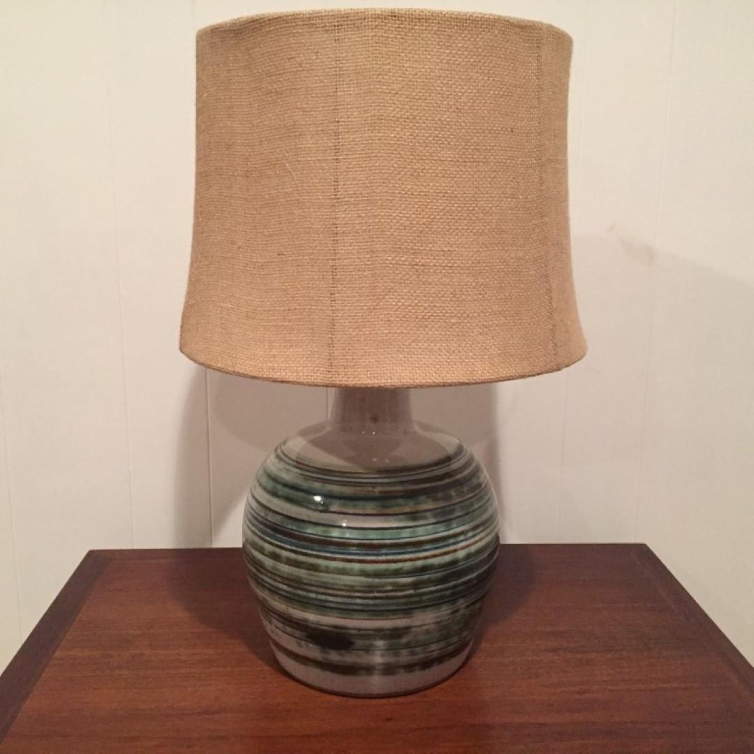mid century modern Martz table lamp 1955