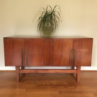Mid Century Modern China, Liquor, Display, Storage Cabinet ...