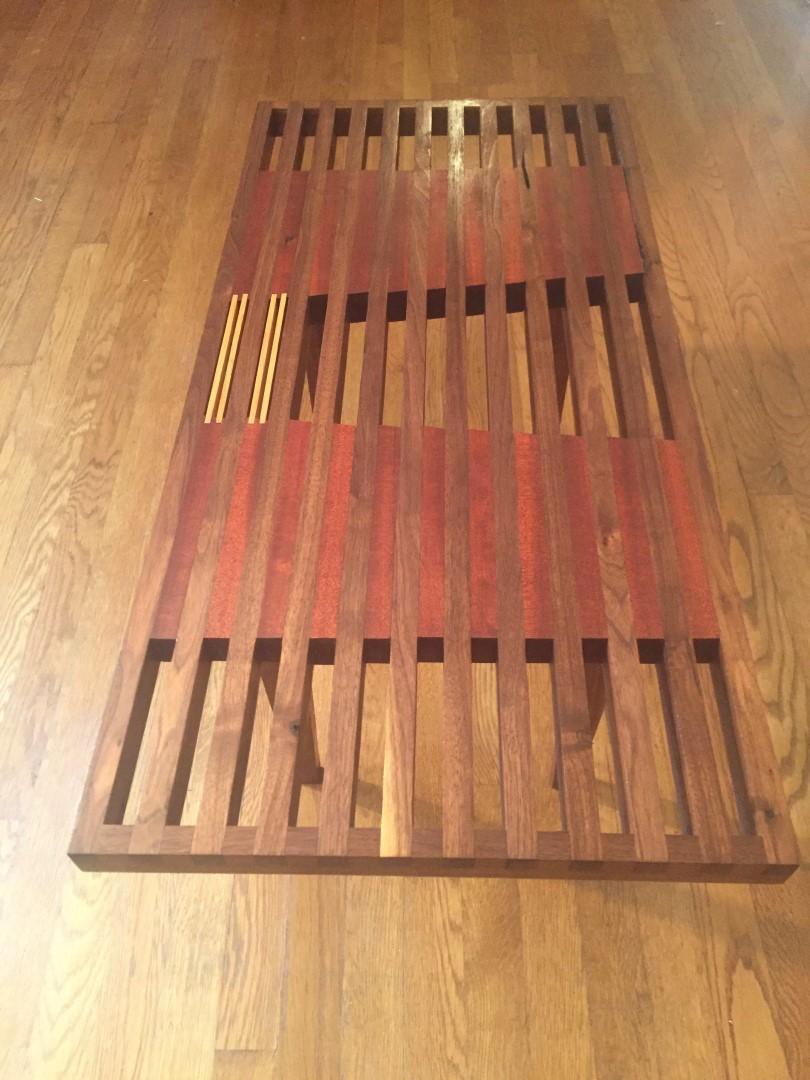 handcrafted-slat-coffee-table-walnut-mahogany-oak