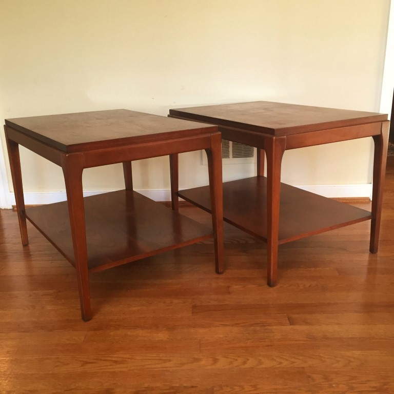 vintage end tables lane rhythm