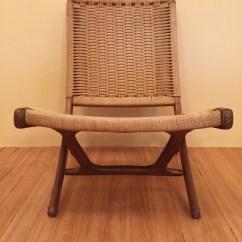 Teal Lounge Chair Vonhaus Hanging Vintage Folding Scissor Chairs In The Style Of Hans Wegner - Epoch