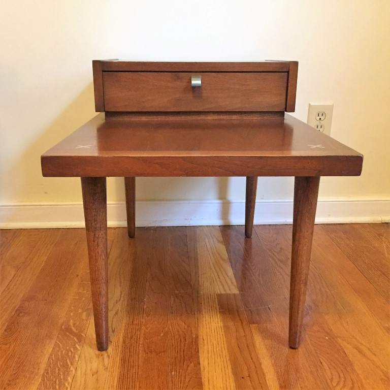 American Of Martinsville Mid Century Coffee Table: Mid Century Modern American Of Martinsville End Tables (2