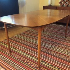 How To Refinish Wood Chairs Oak Farmhouse Vintage Mid-century Pecan Dining Set By Hooker - Epoch