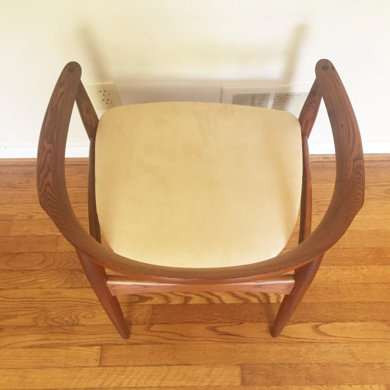 Danish Modern Armchair by Wikkelso for Eilersen
