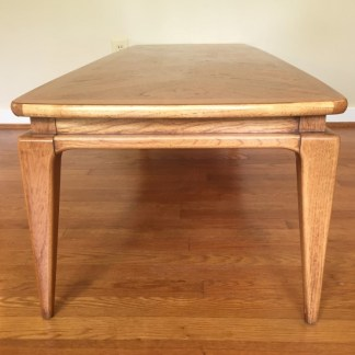 mid century modern lane coffee table 1962