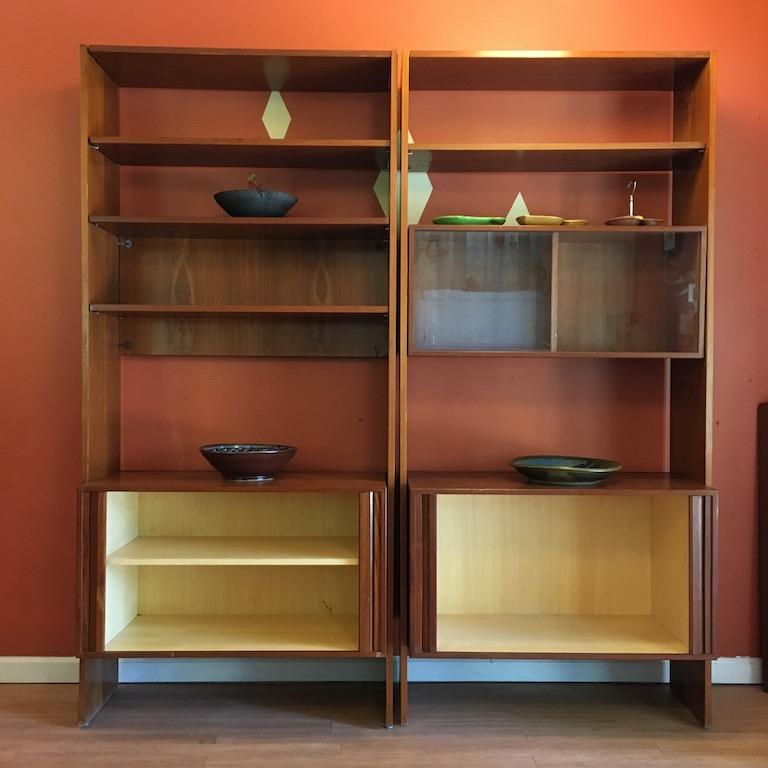 Mid Century Modern Scandinavian Living Room Wall Units - EPOCH