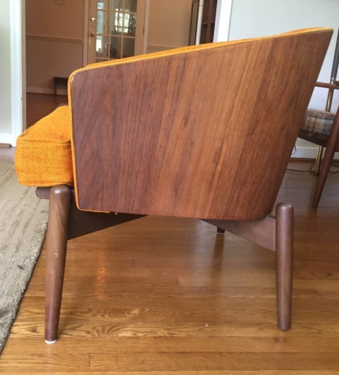 Mid Century Modern Bentwood Lounge Chairs By Kodawood