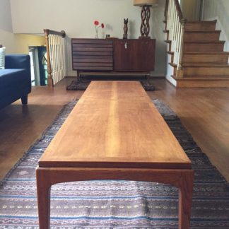 mid century modern lane rhythm coffee table