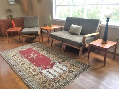mid century modern heywood wakefield modular sofa