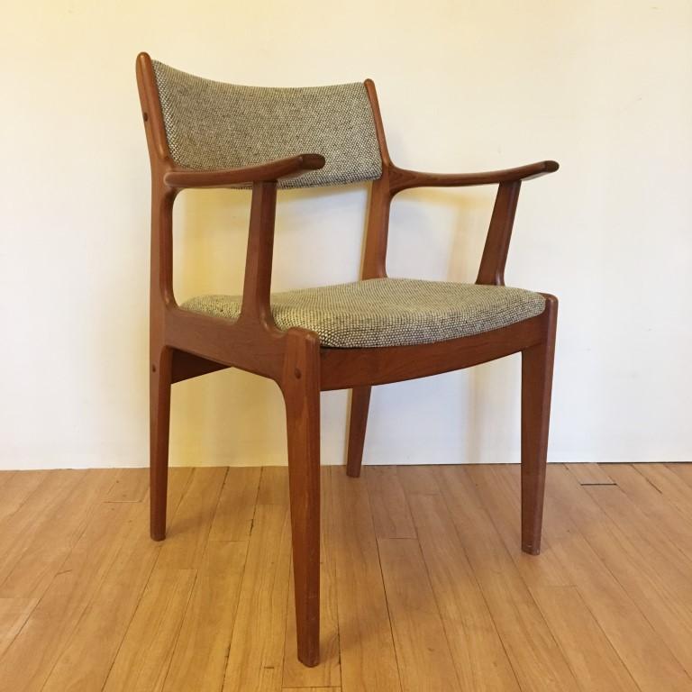 danish modern dining chairs chair design considerations mid century teak set of 6 epoch