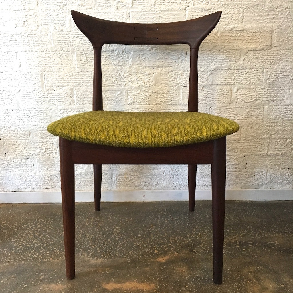 Mid Century Modern Accent Chair Mid Century Modern Rosewood Accent Chair Original Wool Upholstery Epoch