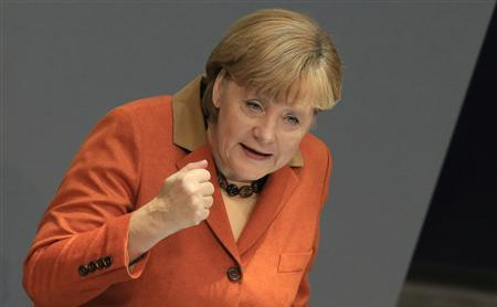 Cancelarul german Angela Merkel. (Captură Foto)