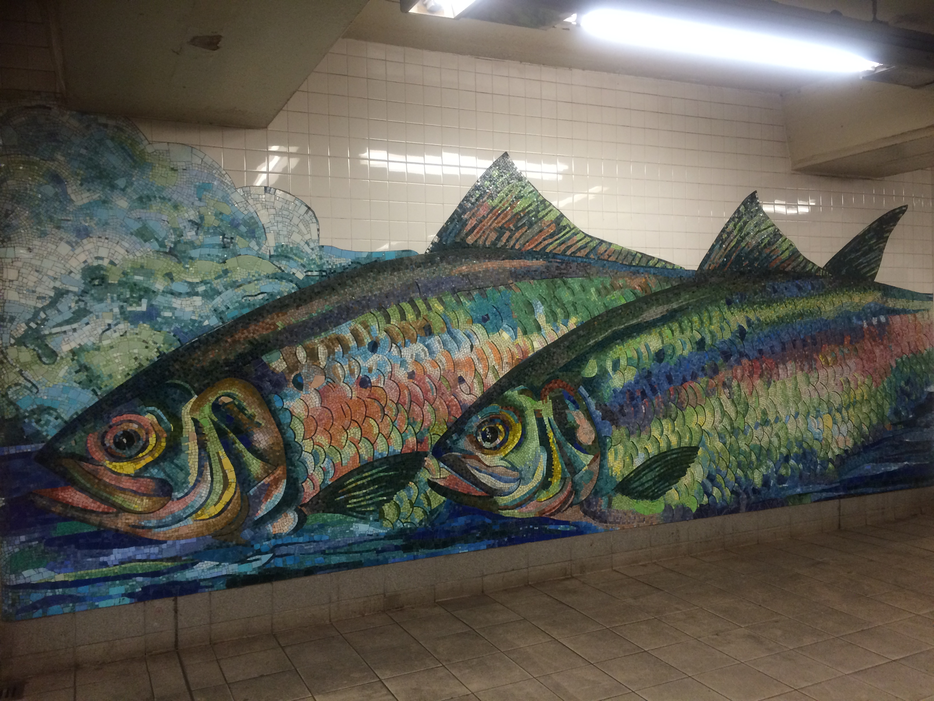 Subway Station Mosaic The Arts In New York City