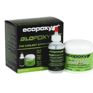 EcoPoxy GloPoxy_Resin_Epoxy_EcoFriendly_GloInTheDark_Green