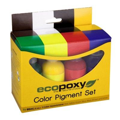 color-pigments 7 colors EcoPoxy