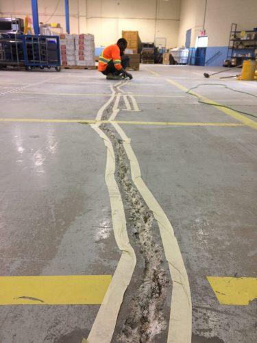 Epoxy flooring concrete coating