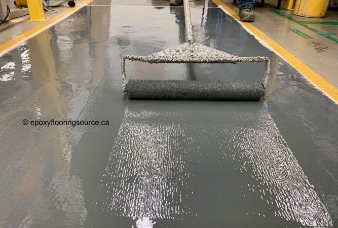 Warehouse floor coatings