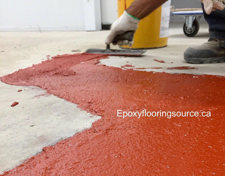 Concrete floor resurfacing