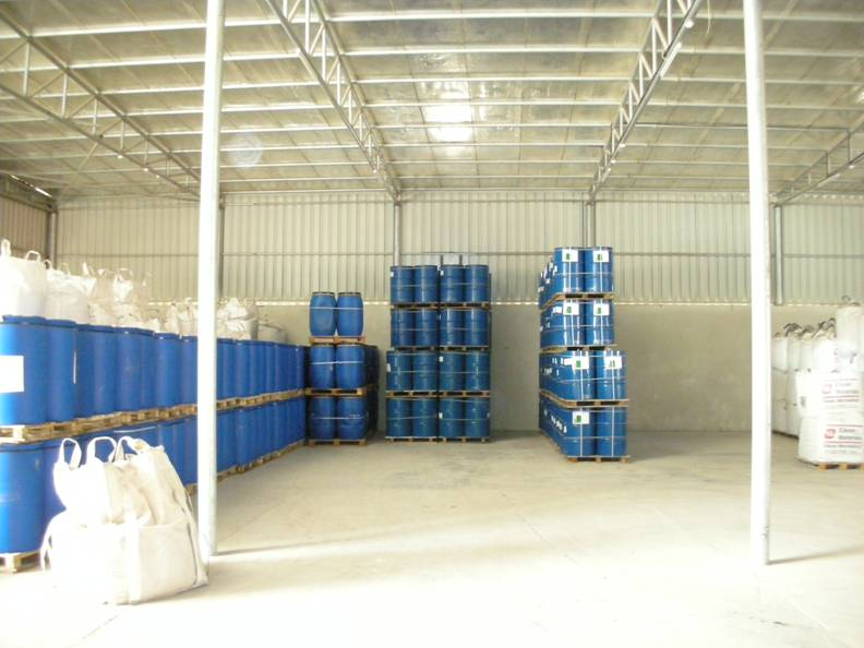Epoxy Chemical warehouse