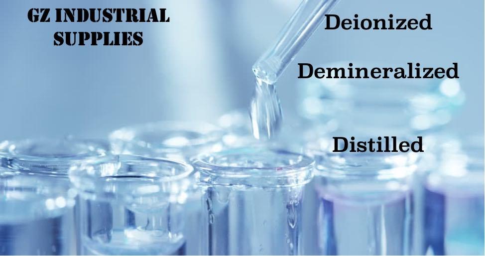 demineralized, deionized and distilled water in Nigeria