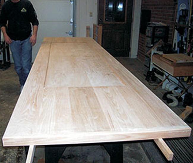 Wood Epoxy Bar Top