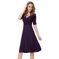 Alisapan Womens Autumn Casual Short Party Dress Winter ...