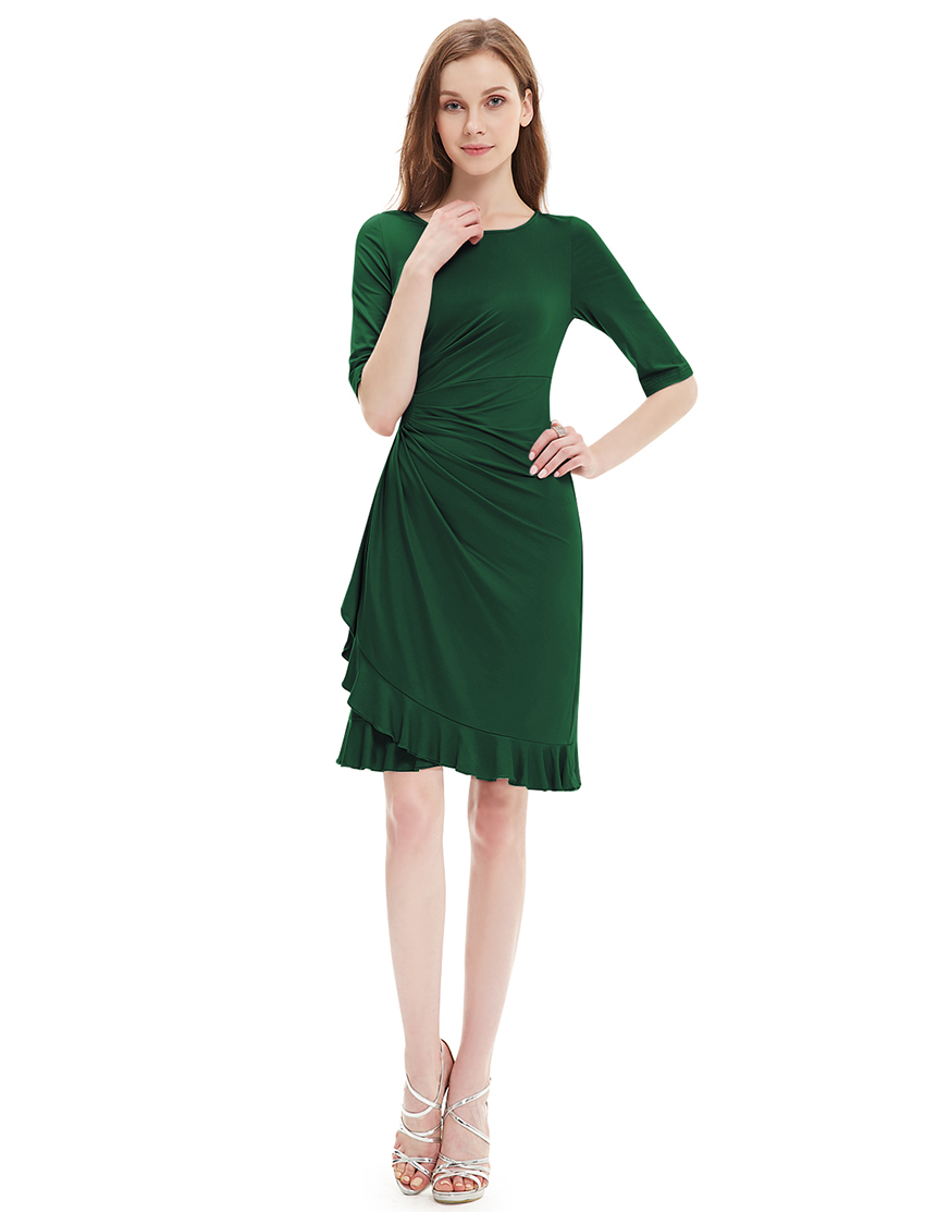 Alisapan Womens Elegant Stretch Short Prom Party Cocktail Casual Dress 03900  eBay