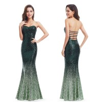 Ever-Pretty Strapless Sequins Formal Evening Prom Dresses ...