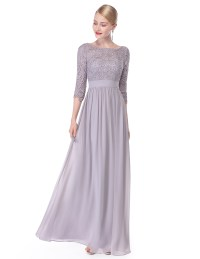Ever Pretty US Women Wedding Ball Gown Prom Lace Maxi ...
