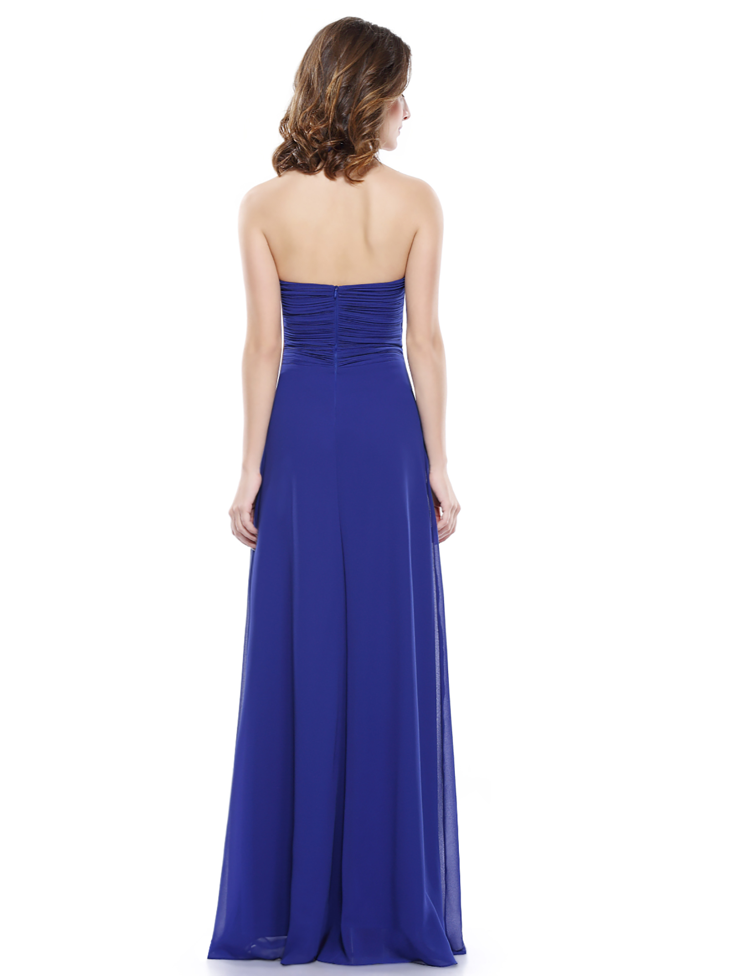 Womens Maxi Halter Bridesmaid Dress Evening Wedding Prom Party Dresses 08487  eBay