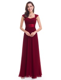Ever Pretty Women New Elegant Square Neck Long Formal