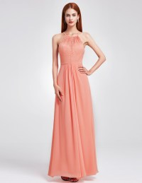 Ever-Pretty Long Bridesmaid Dresses Prom Ball Gown Evening ...