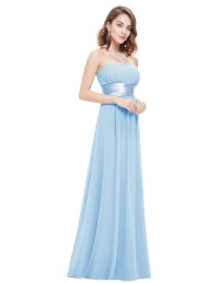 Ever-Pretty Strapless Bridesmaid Dress Wedding Guest ...