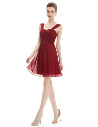 Sexy Short Cocktail Bridesmaid Dress Formal Prom Party ...