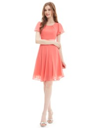 Ever Pretty Ladies Chiffon Short Summer Casual Party ...